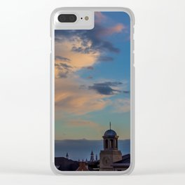 Seminary Sunset pt.3 Clear iPhone Case