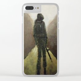 Daze of Combat Clear iPhone Case