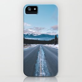 Icefields Parkway, AB II iPhone Case