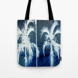 White Palms Over Lauderdale Tote Bag
