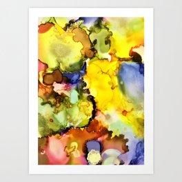 Rainbow brite Art Print