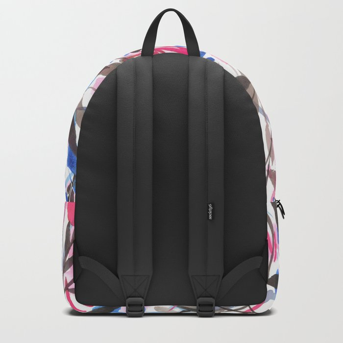 Wandering Wildflowers Pink  Backpack