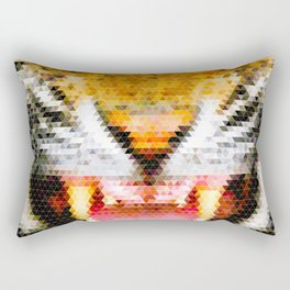 Tri-Ger! Rectangular Pillow