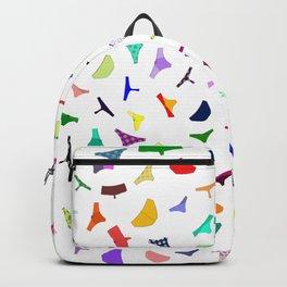 Colorful panties print Backpack