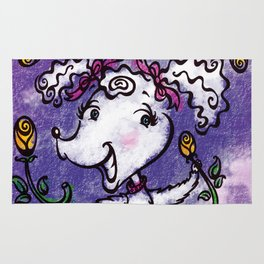 Perky Poodle Rug
