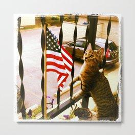 i pledge allegiance... Metal Print