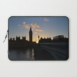 London Sunset Silhouette Laptop Sleeve