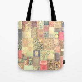 Dream with Books - Love of Reading Bookshelf Collage Tote Bag
