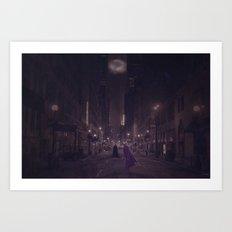 Gotham Nights Art Print