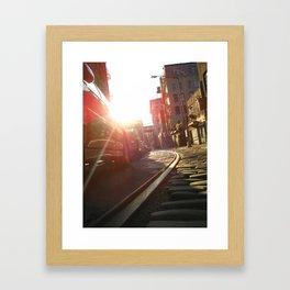 CobbleStone I Framed Art Print