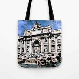 Fontana di Trevi, Rome Tote Bag