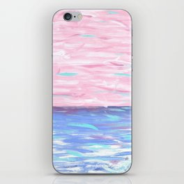 Pink Sky Delight iPhone Skin