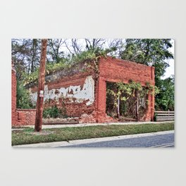 The Store That is No More Canvas Print