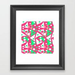 Hot Pinkness Framed Art Print