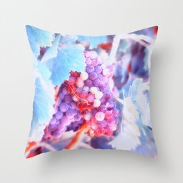 Wine before its Time Throw Pillow