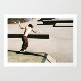 Skate Series – IX Art Print