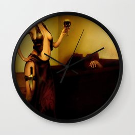 """The bad customer"" Wall Clock"
