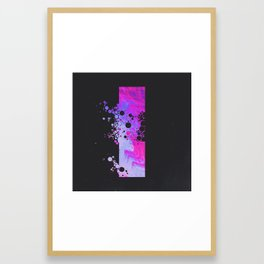 DAT 173: WEDNESDAY BUBBLE INSURANCE Framed Art Print