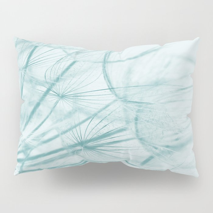 Dandelion In Blue Pillow Sham