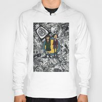 daria Hoodies featuring It's a Sick Sad World Daria by MyOwlHasAntlers