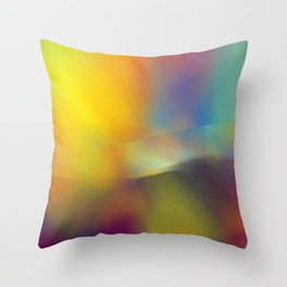 colorkleckse Throw Pillow