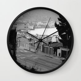 Maibu Pier Wall Clock