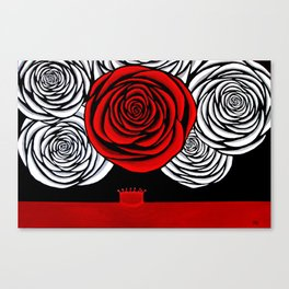 Heather's Rose Canvas Print