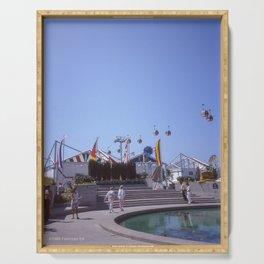 Expo 86 European Plaza Serving Tray