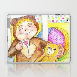 Teddybear tea-time Laptop & iPad Skin