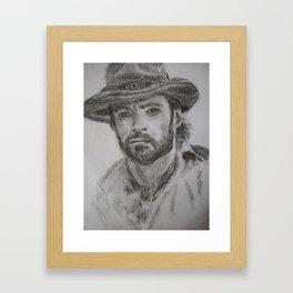 Hugh Framed Art Print