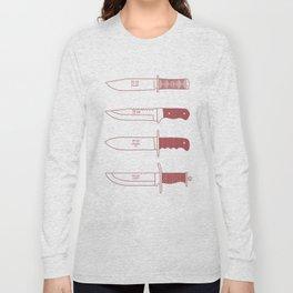 Staring daggers Long Sleeve T-shirt
