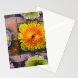 Prehepaticus Framework Flower  ID:16165-082221-45091 Stationery Cards
