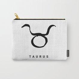 KIROVAIR ASTROLOGICAL SIGNS TAURUS #astrology #kirovair #symbol #minimalism #horoscope #stier #home Carry-All Pouch