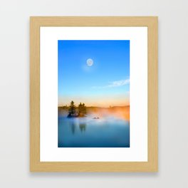 Misty Day Framed Art Print