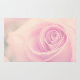 Vintage rose - Beautiful lightpink flower - Roses Rug