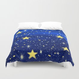 Starry, Starry Nights... Duvet Cover