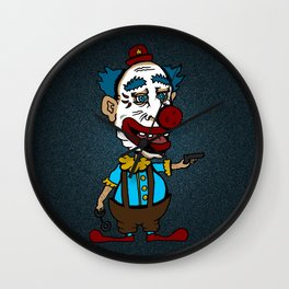 Arm the Clowns, Protect our Children and Gun Sales Wall Clock