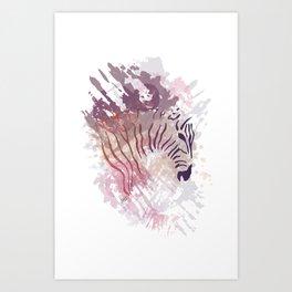 Wild Purple Art Print