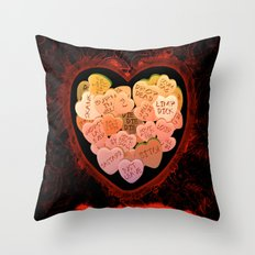 ANTI VALENTINE - 198 Throw Pillow