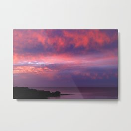 Sunset Across the Bay Metal Print