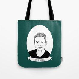 Judith Butler Illustrated Portrait Tote Bag