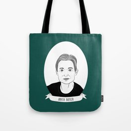Judith Butler Illustrated Portrait Tote Bag