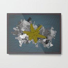 Rhombic Theosophy Metal Print