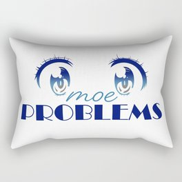 Moe Problems Rectangular Pillow