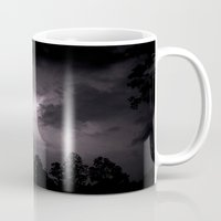 lightning Mugs featuring Lightning.  by MJ's Little Muse Photography