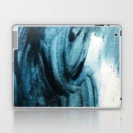 1 2 3 1 : blue abstract Laptop & iPad Skin