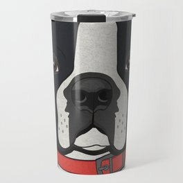 Icons of the Dog Park: Boston Terrier Travel Mug