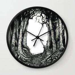 Le petit charnier. Wall Clock