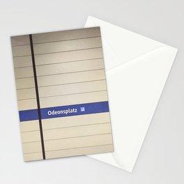 Munich U-Bahn Memories - Odeonsplatz Stationery Cards