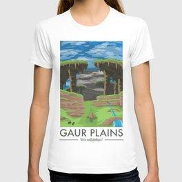 Gaur Plains (Xenoblade Chronicles) Travel Poster T-shirt
